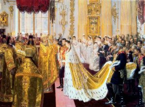 Wedding_of_Nicholas_II_and_Alexandra_Feodorovna_by_Laurits_Tuxen_(1895,_Hermitage)