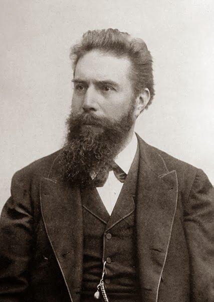 """Z cyklu """"znani Niemcy"""": Wilhelm Conrad Röntgen"""
