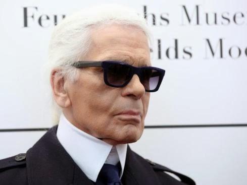 """Z cyklu """"znani Niemcy"""": Karl Lagerfeld"""
