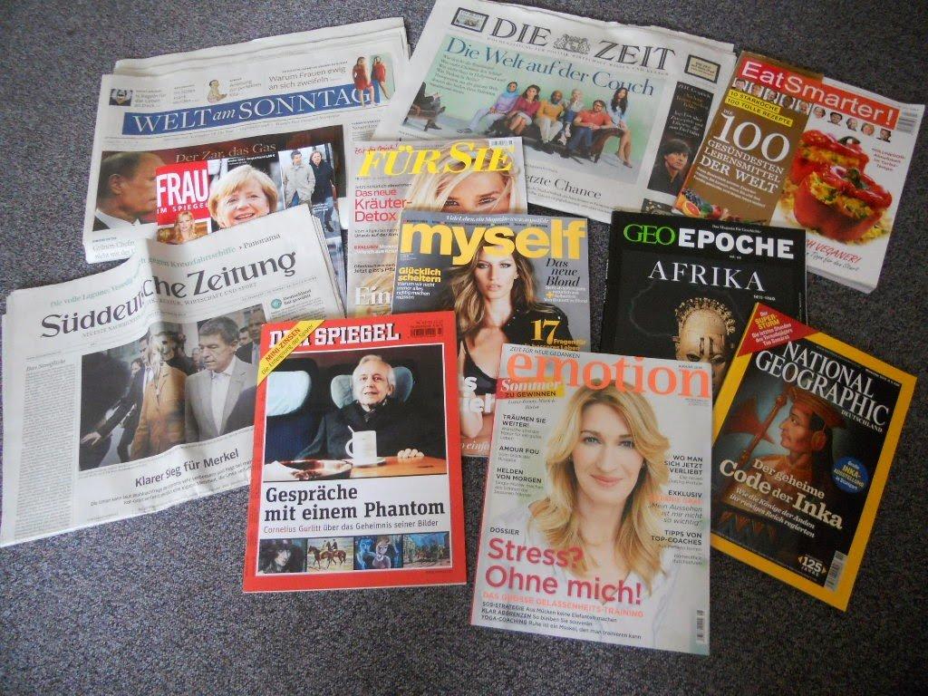 Jakie gazety i czasopisma czytam po niemiecku?