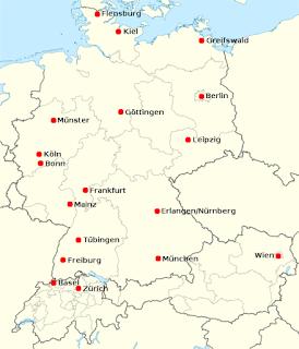 Skandynawistyka na niemieckich uniwersytetach