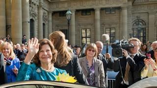 Królowa Szwecji w Würzburgu