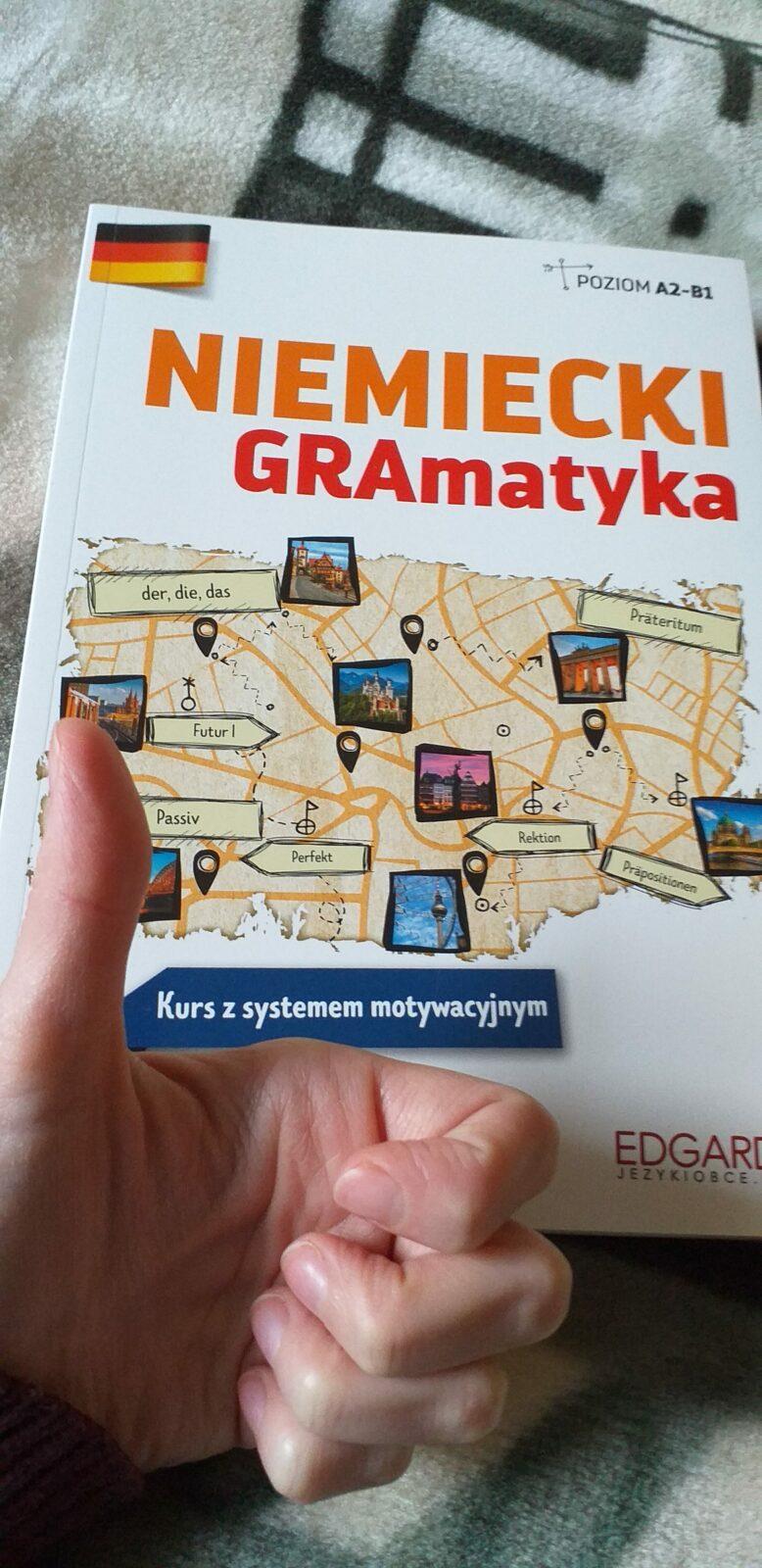 """Podręcznik """"Niemiecki GRAmatyka"""" – opis i kod rabatowy!"""