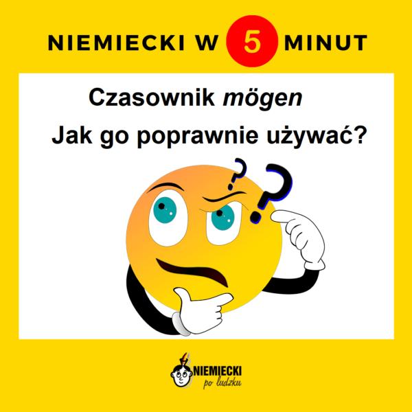 """Niemiecki w 5 minut: Czasownik """"mögen"""" – jak go poprawnie używać?"""
