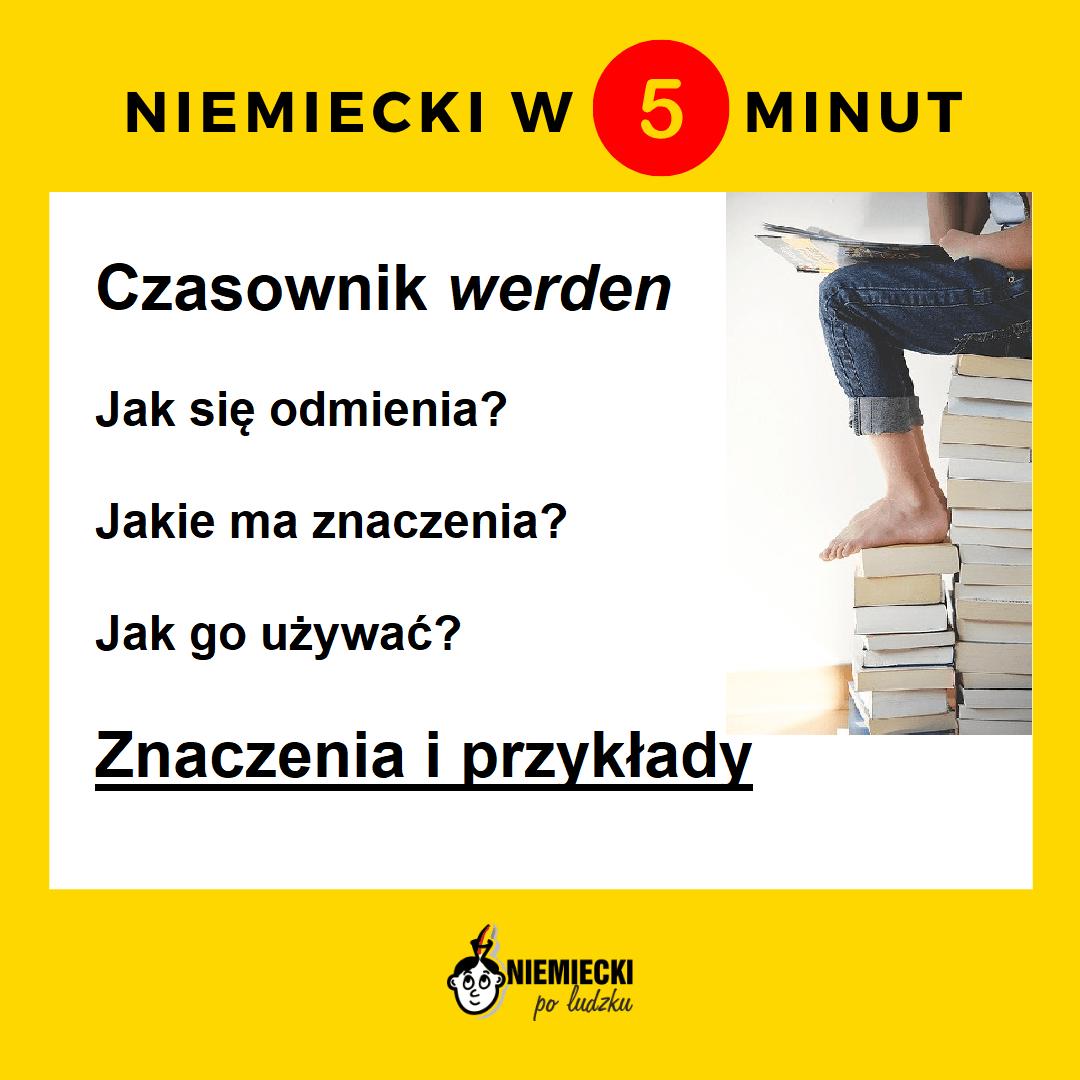 """Niemiecki w 5 minut: Czasownik """"werden"""""""