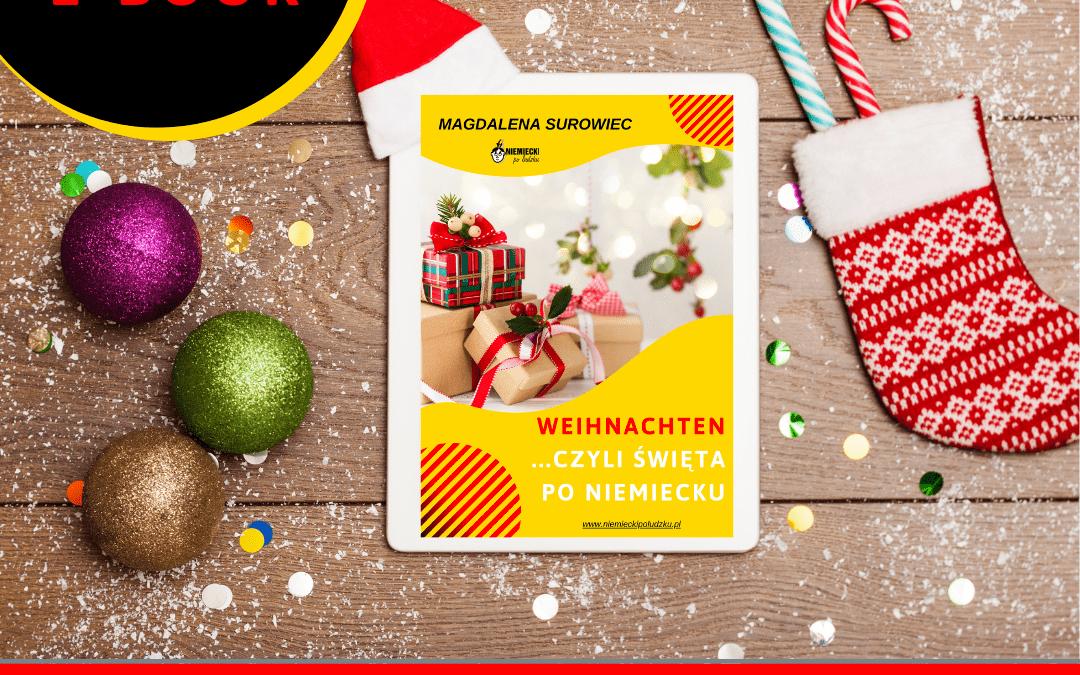 """E-book """"Weihnachten, czyli święta po niemiecku"""""""