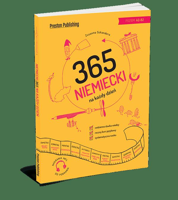 """Podręcznik """"Niemiecki 365 na każdy dzień"""""""