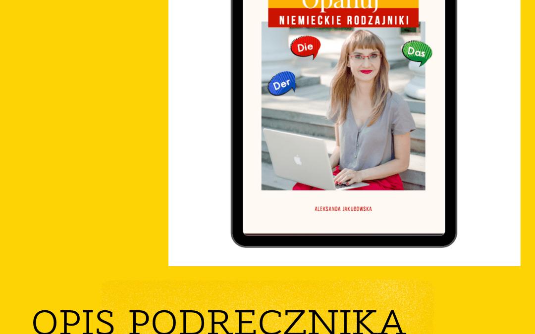 "E-book ""Opanuj niemieckie rodzajniki"". Opis i moja opinia"